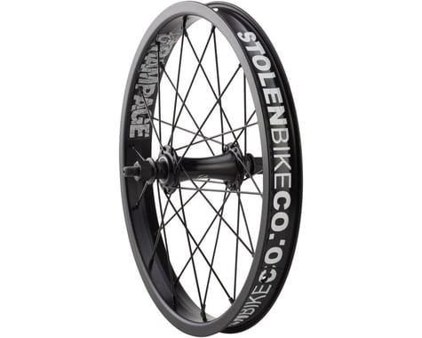 """Stolen Rampage 16"""" Front Wheel (Black) (16 x 1.75)"""