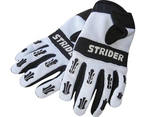 Strider Sports Adventure Riding Gloves (White/Black) (Youth XS)