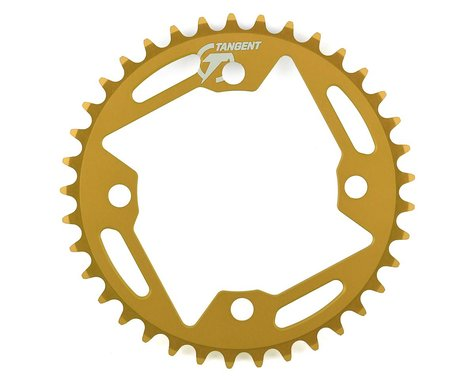 Tangent Halo 4-Bolt Chainring (Gold) (37T)