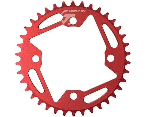 Tangent Halo 4-Bolt Chainring (Red) (42T)