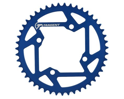 Tangent Halo 4-Bolt Chainring (Blue) (47T)