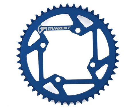 Tangent Halo 4-Bolt Chainring (Blue) (48T)