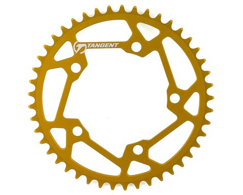 Tangent Halo 5-Bolt Chainring (Gold) (45T)