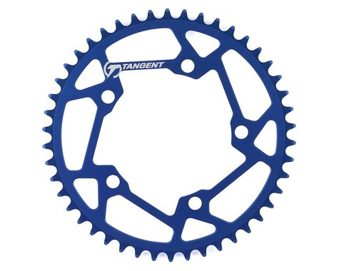 Tangent Halo 5-Bolt Chainring (Blue) (46T)