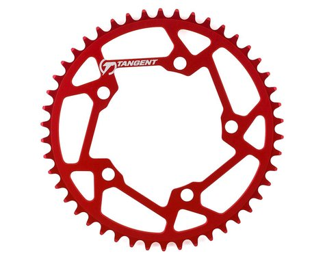 Tangent Halo 5-Bolt Chainring (Red) (46T)