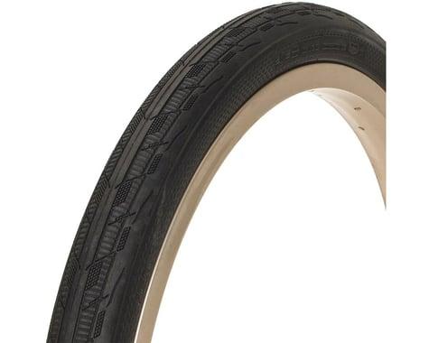 "Tioga Fastr React BLK LBL BMX Tire (Black) (1.6"") (20"" / 406 ISO)"