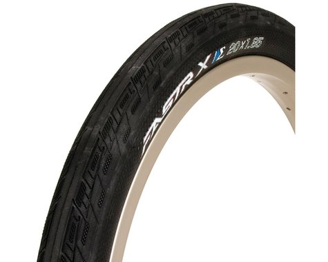 "Tioga Fastr-X S-spec BMX Tire (Black) (1-3/8"") (20"" / 451 ISO)"