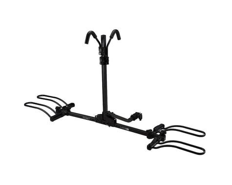 "TransIt Flatbed DLX Hitch Rack (Black) (2 Bikes) (1.25 & 2"" Receiver)"