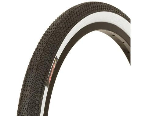 Vee Tire Co. Speedster BMX Tire - 20 x 1.5, Clincher, Folding, Black/White, 90tp