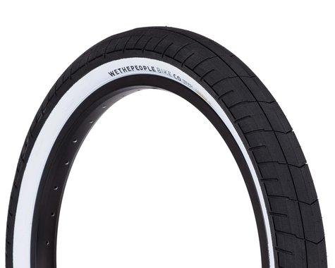 """We The People Activate 100 PSI Tire (Black/White) (2.35"""") (20"""" / 406 ISO)"""