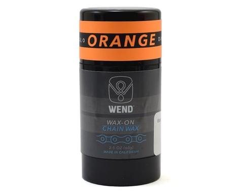 Wend Wax-On Chain Lube (Orange) (2.5oz)