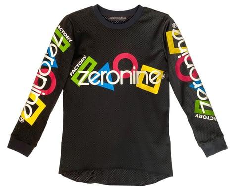 Zeronine Youth Mesh BMX Racing Jersey (Black) (Youth XS)
