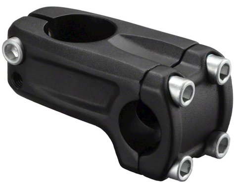 Zoom Front Load BMX Stem (Black) (48mm)